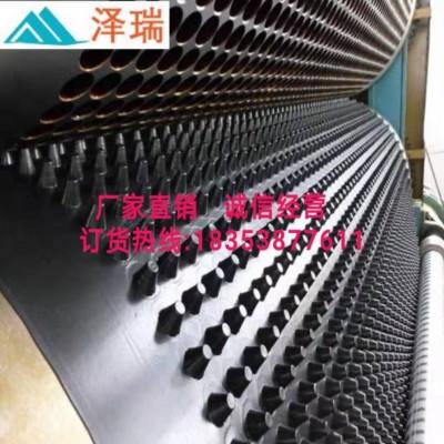 临沧屋顶绿化蓄排水板、车库排水板厂家施工