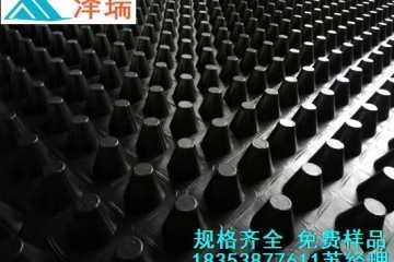 宿州2.5公分蓄排水板》安庆车库排水板-绿泰牌