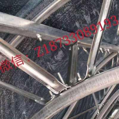 加厚加粗C型双膜骨架拱形大棚