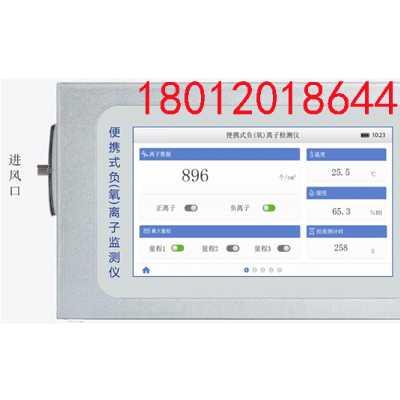 厂家直销便携式空气负氧离子检测仪