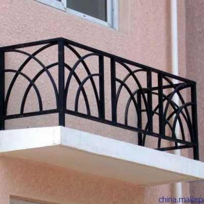 锌钢护栏、阳台护栏、空调护栏安装方案