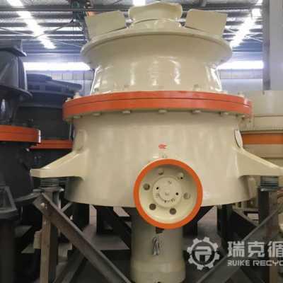出售检修完成的二手大宏立GP500圆锥破碎机