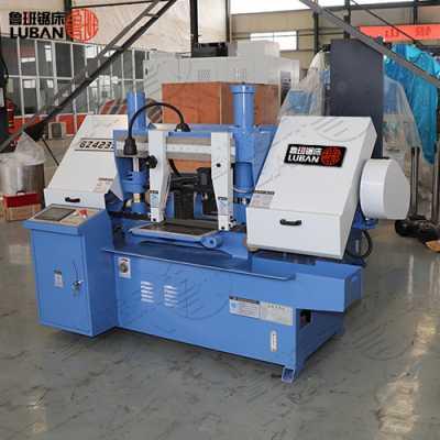 GZ4235钢材切割带锯床 鲁班专业制造 质量可靠