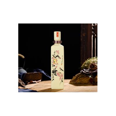 酒瓶空瓶 1斤复古家用散装白酒酒坛摆件景德镇陶瓷高档定制酒瓶