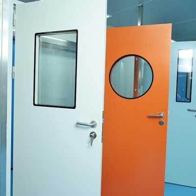 钢制洁净门  病房实验室洁净门 净化车间专用门生产厂家
