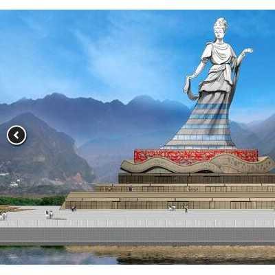 新艺标环艺 重庆艺术建筑设计 重庆特色建筑 重庆艺术大门