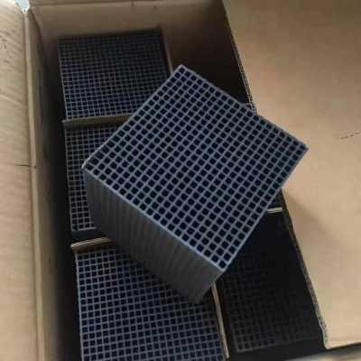 厦门耐水蜂窝活性炭 碘值600 吸附有机废气 VOCs处理